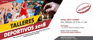 TUMBES: Talleres deportivos 2018 @ ULADECH Católica filial Tumbes