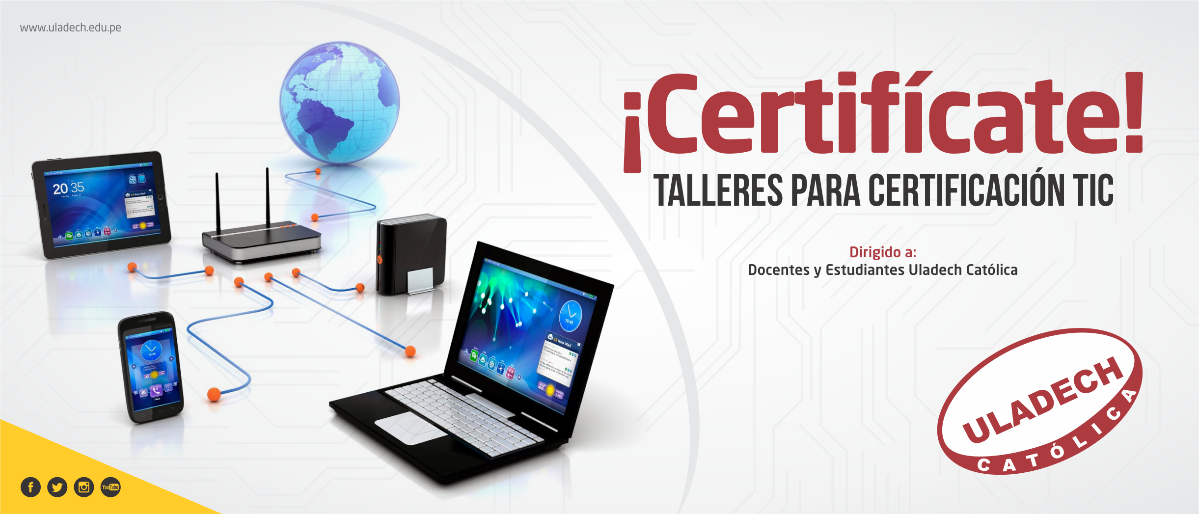 Banner Web Certificate TIC - 7000 x 3000